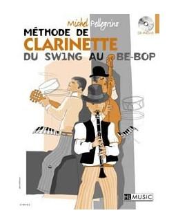 Méthode de clarinette du swing au bop PELLEGRINO avec CD