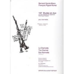 167 études en duo GAVIOT-BLANC vol 1