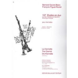 167 études en duo GAVIOT-BLANC - PIGUET RUINET vol 2
