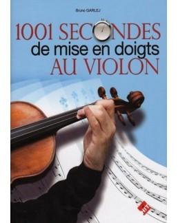 1001 secondes de mise en doigt en violon Bruno GARLEJ