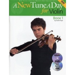 A new tune a day for violin CD + DVD