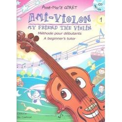 Ami-violon Anne-Marie GIRET avec CD