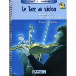 Le jazz au violon Pierre BLANCHARD vol 2 avec CD