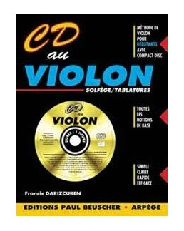 CD au violon DARIZCUREN