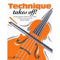 Technique Takes off violon Mary COHEN