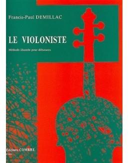 Le violoniste Francis Paul DEMILLAC