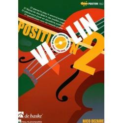 Violin position 2 Nico DEZAIRE avec CD