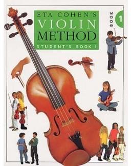 Violin méthod student EtA COHEN vol 1