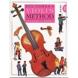 Violin method student EtA COHEN vol 2