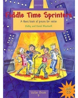 Fiddle time sprinters BLACKWELL avec CD playalong