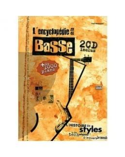 L'encyclopédie de la basse WESTWOOD avec 2 CD