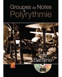 Groupe de notes & polyrythmie Frédéric MARCEL avec CD