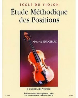 Etude méthodique des positions HAUCHARD 1er cahier