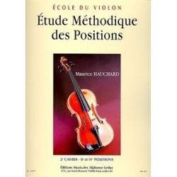 Etude méthodique des positions HAUCHARD 2e cahier
