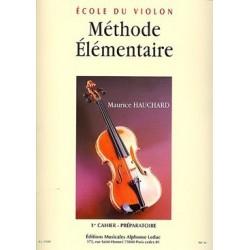 Méthode élémentaire HAUCHARD 1er cahier