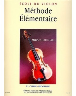 Méthode élémentaire HAUCHARD 2e cahier
