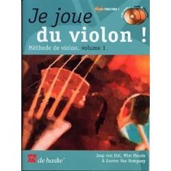 Je joue du violon vol 1 avec CD  Jaap VAN ELST, Wim MEURIS