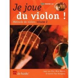 Je joue du violon vol 2 avec CD  Jaap VAN ELST, Wim MEURIS