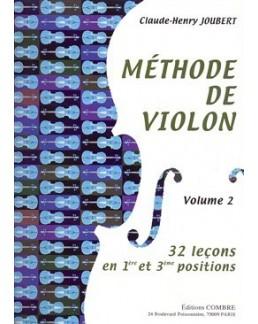 Méthode de violon JOUBERT vol 2