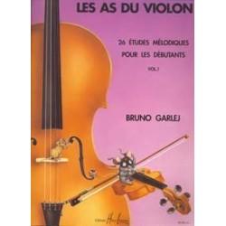 Les as du violon GARLEJ GONZALES vol 1