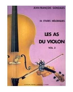 Les as du violon GARLEJ GONZALES vol 2