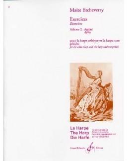 Exercices cahier 2 Maïté ETCHEVERRY harpe celtique