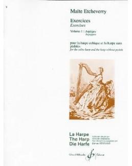 Exercices CAHIER 1 Maïté ETCHEVERRY harpe celtique