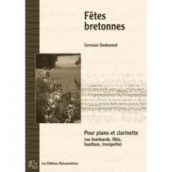 Fêtes bretonnes bombarde et orgue