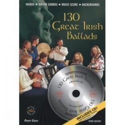 130 great irish ballads avec CD