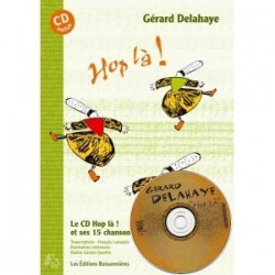 Hop Là vol 2 Gérard DELAHAYE Partitions avec CD