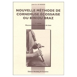 Nouvelle méthode de cornemuse et biniou braz 1er cahier