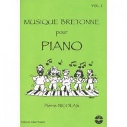 Musique bretonne au piano Pierre NICOLAS avec CD