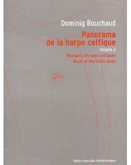 Panorama de la harpe celtique Dominig BOUCHAUD vol 2 avec CD