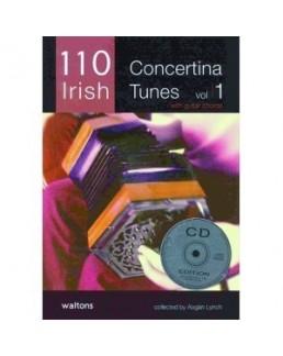 110 ireland's best  concertina tunes voL 1 avec CD
