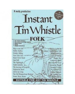Instant tin whistle folk avec CD