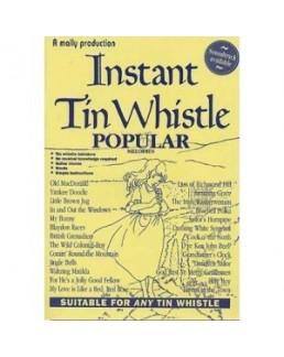 Instant tin whistle popular avec CD
