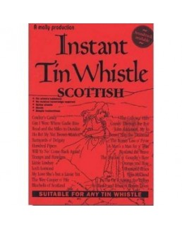 Instant tin whistle scottish avec CD