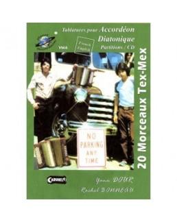 Planet accordéon 20 morceaux tex mex  avec CD