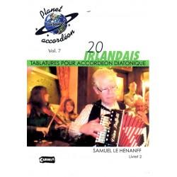 20 irlandais 2 avec CD
