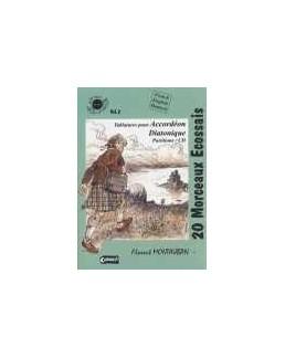 Planet accordéon 20 morceaux écossais avec CD