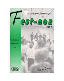 Accordéon diatonique Fest Noz avec CD