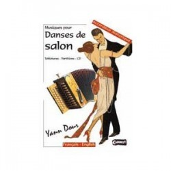 Musique pour danses de salon Yann DOUR avec CD