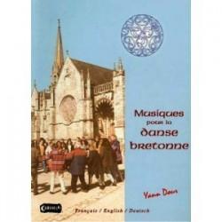 Musique pour la danse bretonne Yann DOUR avec CD