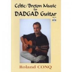 Celtic/Breton music for DADGAD guitar avec CD