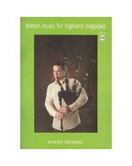 Breton music for highland bagpipes avec CD