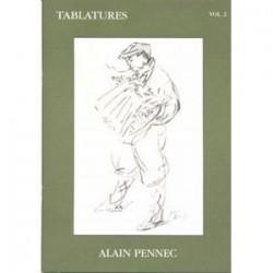Tablatures accordéon PENNEC avec CD vol 2