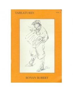 Tablatures accordéon Ronan ROBERT  avec CD vol 3