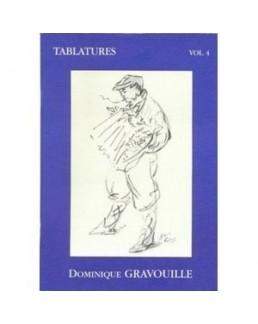 Tablatures accordéon Dominique GRAVOUILLE avec CD vol 4