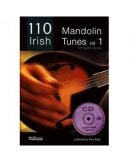 110 best irish mandolin tunes Paul KELLY avec CD vol 1