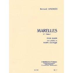 Marelles Bernard ANDRES 1er cahier harpe celtique